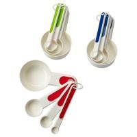 IKEA Stam Set Of 4 Measuring Cups Spoon Assorted Colours-Sendok Takar