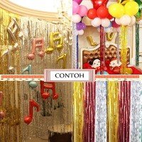 Tirai / Curtain / Backdrop Foil
