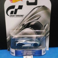 Hot wheels Nissan Concept 2020 Vision GT Gran Grand Turismo Retro