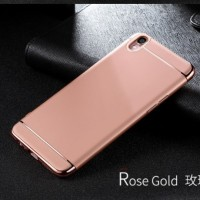 Casing HP 3 in 1 Protection Case Rose Gold Oppo F1 Plus R9