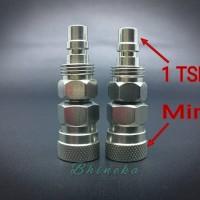 Konverter / sambungan 1 TSM ke Mini Kupler