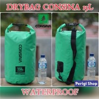 DRY BAG CONSINA 15L WATERPROOF TAS ANTI AIR TRAVEL POUCH ORIGINAL