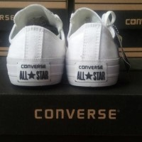 Sepatu converse all star chuck taylor 2 low (Grade Ori) - Putih Polos