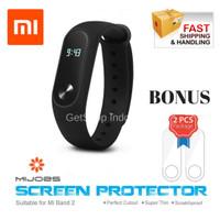 Jual Smart Watch Xiaomi Mi Band 2 Bracelet Oled Display ORIGINAL - Hitam Murah