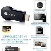 harga Google Chrome Cast Jadikan Tv Anda Ke Smart Tv Tokopedia.com