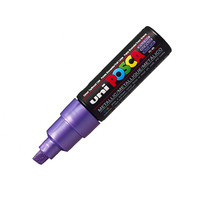 Uni Posca Paint Marker PC-8K - Metallic Violet - Broad Point