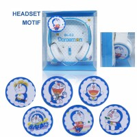 harga Headphone Karakter / Headset Cartoon / Earphone Bando - Motif Doraemon Tokopedia.com