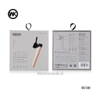 harga Earphone / Headset Bluetooth Stereo - Wk Bs100 Tokopedia.com