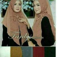 Jual grosir hijab/jilbab murah instan dinda hana Murah