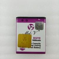 Baterai Double Power + IC Samsung B3210 / Corby Batre Original Mel-V