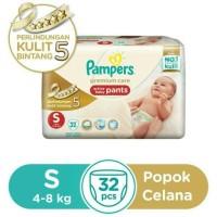 Jual Pampers Premium Care Active Baby Pants S32 Murah