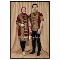Jual couple batik songket Murah