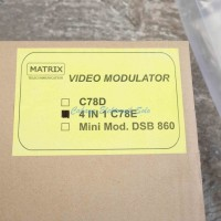 Modulator Matrix Agile 4 in 1 vhf dan uhf kabel tv