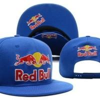 Jual Topi Snapback Red Bulls Import Murah