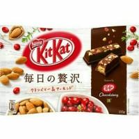 Jual Kit Kat Everyday Luxury Cranberries Almond Coklat From Japan Murah
