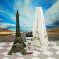 Jual Pajangan Miniatur Menara Eiffel Paris 15 cm Murah