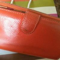 Dompet kulit asli/pouch kulit/dompet wanita