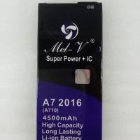Baterai Double Power + IC Samsung Galaxy A7 2016 Batre Original Mel-V