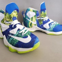 Jual Nike Lebron James 13 Luminous Shapire Premium Murah