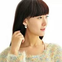 Harga dp store anting perhiasan fashion import wanita mutiara | WIKIPRICE INDONESIA