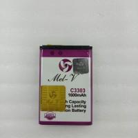 Baterai Double Power + IC Samsung C3303 tebel / Champ Batre Original