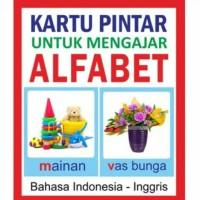 Jual Mainan edukasi kartu puntar alfabet Murah