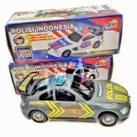 MAINAN MOBIL MOBILAN POLISI INDONESIA ABU ABU