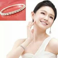 Harga dp store gelang perhiasan import wanita fashion cuff berlapis | WIKIPRICE INDONESIA