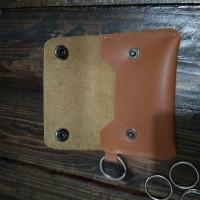 Jual gantungan kunci kulit mobil/motor dompet stnk kulit asli Murah