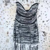Mango monochrome dress original