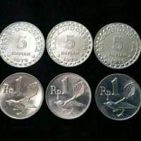 Jual Paket Mahar Uang Kuno 18 Rupiah (5+5+5+1+1+1) Murah