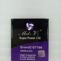 Baterai Double Power + IC Samsung G7106 / Grand2 Batre Original Mel-V