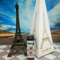 Jual Pajangan Miniatur Menara Eiffel Paris 18 cm Murah