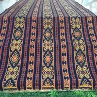 Jual kain tenun ikat troso blanket blouse dress blazer kemeja rok ethnic Murah