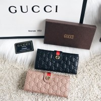 Gucci Classic Continental Leather Wallet