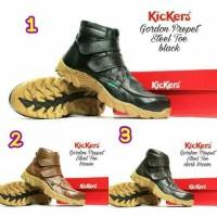 Jual sepatu kickers gordon sepatu boots kulit pria sepatu tracking murah Murah