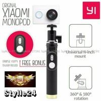 Jual Monopod Tongsis With Remote Shutter Tomsis Xiaomi Yi - Original Murah