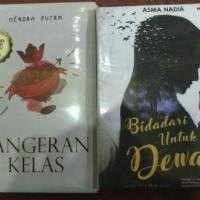Paket 2 novel Pangeran kelas Dan Bidadari Untuk Dewa