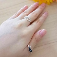 Harga cincin set modis keren fashion accessory trendy | WIKIPRICE INDONESIA