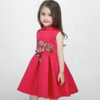 dress anak / gaun pesta anak / sagami rose