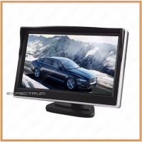 LCD Monitor 5 inch TFT Color Rearview Monitor for DVD, GPS, Cam