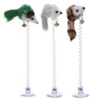 Mainan Kucing Per Tikus Tempel Impor dengan Lonceng