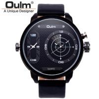 Jual Oulm Analog Quartz Men Stainless Steel Band Fashion Watch - 9316 - B  Murah