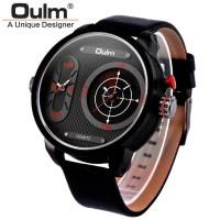 Jual Oulm Analog Quartz Men Stainless Steel Band Fashion Watch - 9316 - R  Murah