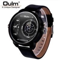 Jual Oulm Analog Quartz Men Stainless Steel Band Fashion Watch - 9316 - Y  Murah