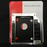 HDD Caddy 9.5 mm untuk notebook