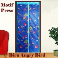 Jual TIRAI MAGNET ANTI NYAMUK Motif Angry Bird Birds Magic Mesh Hello Kitty Murah