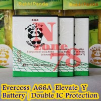 Baterai Cross Evercoss A66a Rakkipanda Double Power