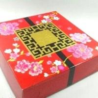 Jual Box Dus Kardus Tempat Roti Kue Bulan Mooncake Moon Cake Merah Cantik Murah