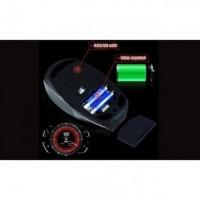 Jual TaffWare Mouse Wireless Optical Iron Man 2.4Ghz Golden Murah